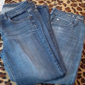 Jennifer Lopez 2 pair Jean bundle